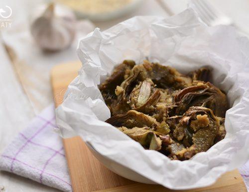 Carciofi ammollicati, ricetta facile e veloce