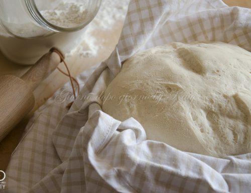 La pasta da pane, ricetta base