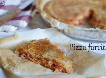 La pizza farcita, ricetta facile per buffet