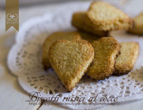 Biscotti rustici al cocco