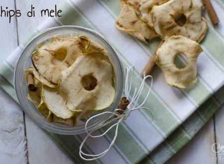 Chips di mele, uno snack sano e goloso