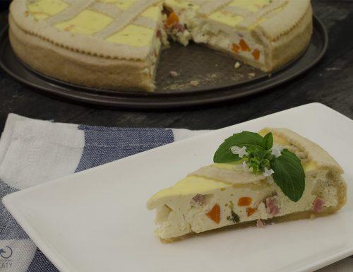 Pastiera salata, ricetta torta rustica