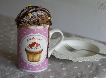 Mug cake al cacao, dolce in 5 minuti