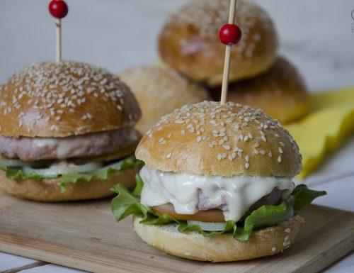 Panini per hamburger a lievitazione naturale