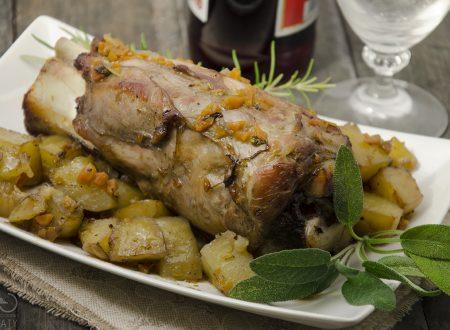 Stinchi di maiale con patate