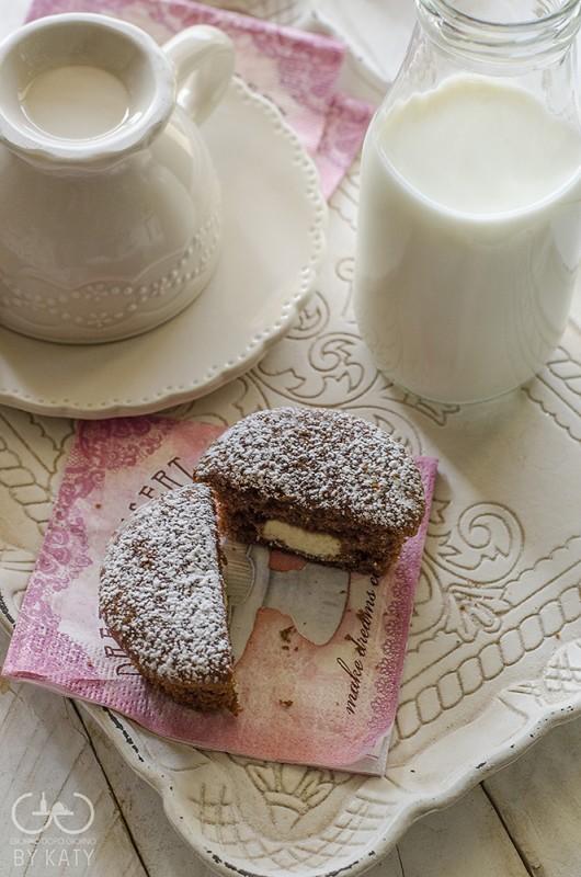 muffin ai due cioccolati