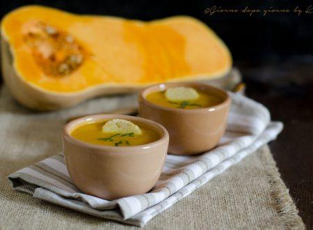 Crema di zucca e carote