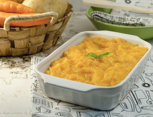 Purè di patate carote e zucca