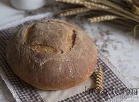 Pane alla semola a lievitazione naturale