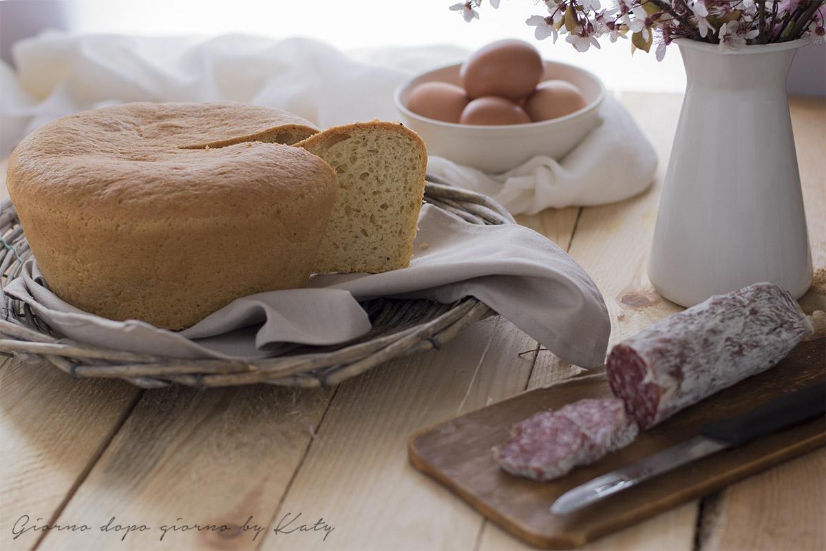 crescia di pasqua o pizza al formaggio ricetta tipica marchigiana lievitata