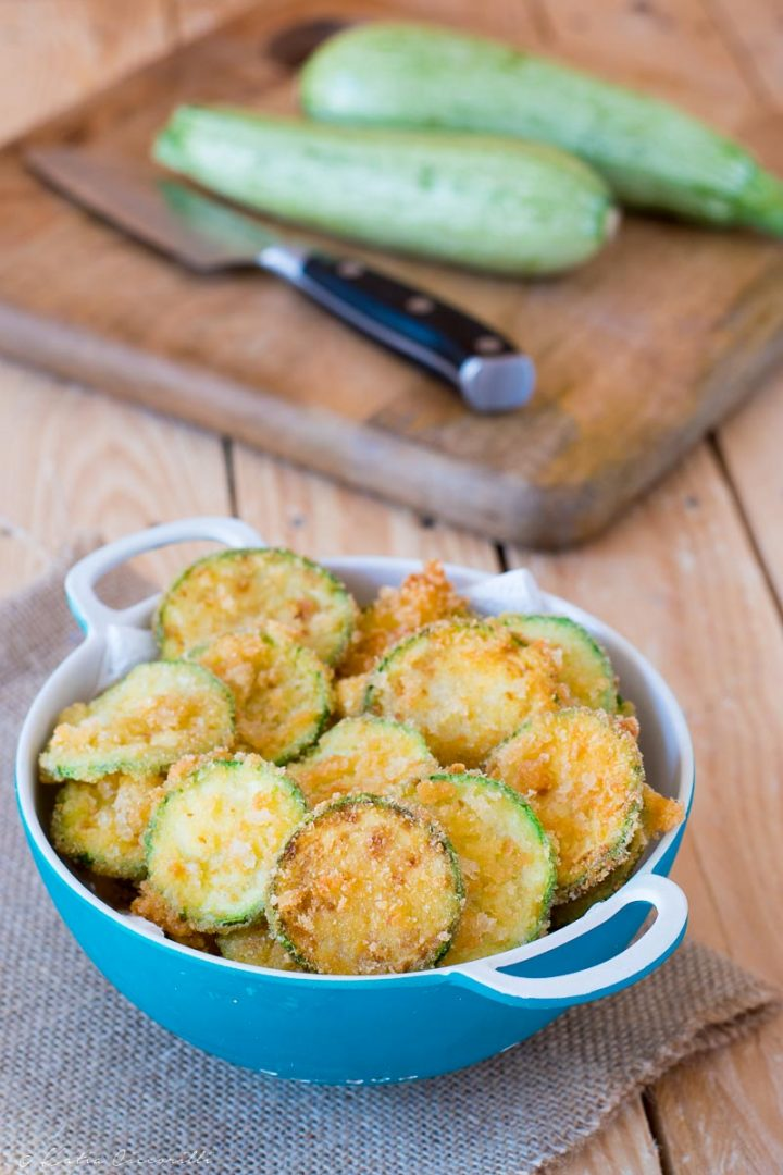 zucchine fritte mollica