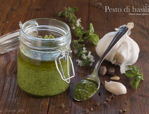 Pesto di basilico al Bimby