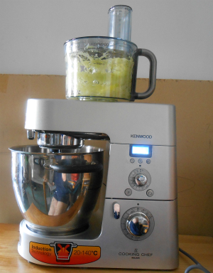 food processor funzionante