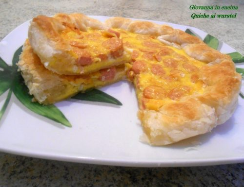 Quiche ai wurstels