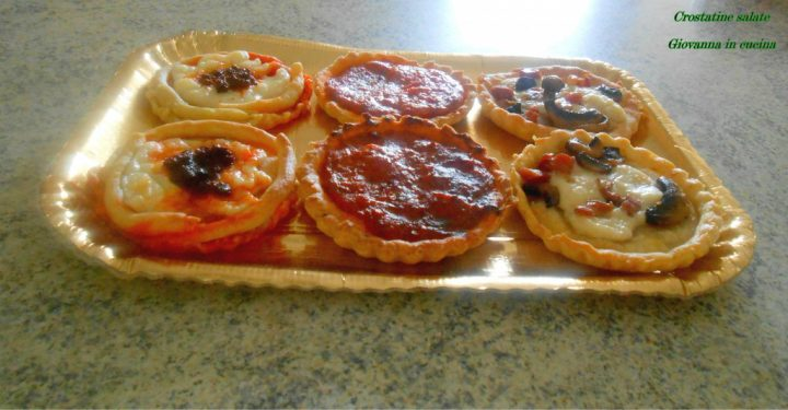 crostatine salate