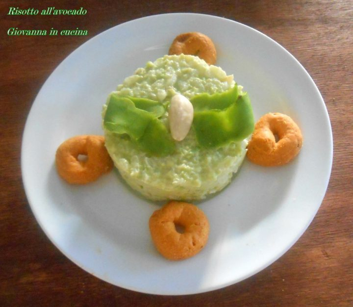 Risotto all'avocado