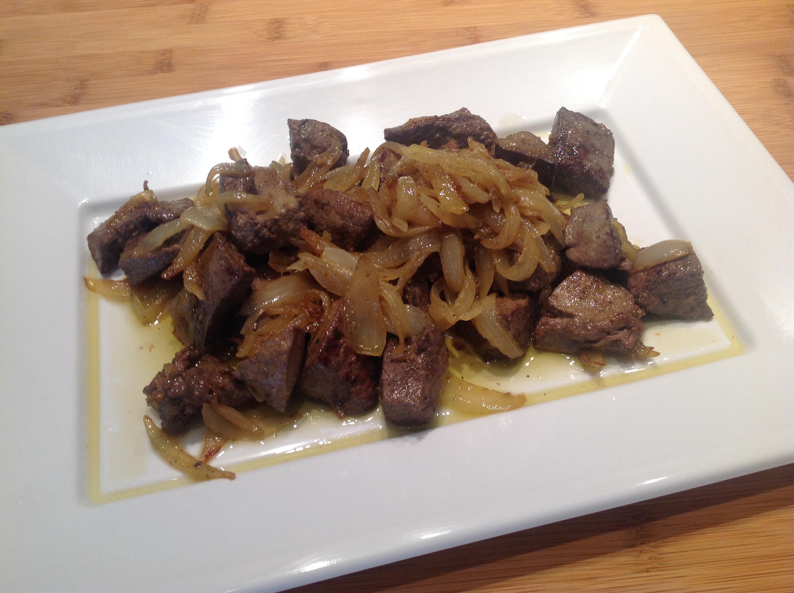 Fegato alla veneziana sapori caserecci di giovanni brigand - Cucina tipica veneziana ...