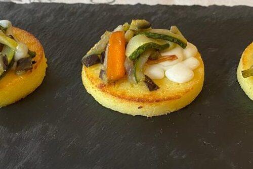 Gnocchi alla romana con verdure