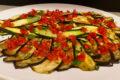 Melanzane e zucchine al forno con pomodorini