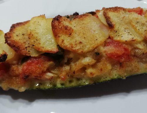 Barchette di zucchine