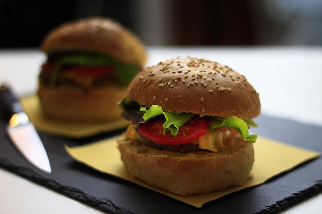 cheeseburger goloso homemade