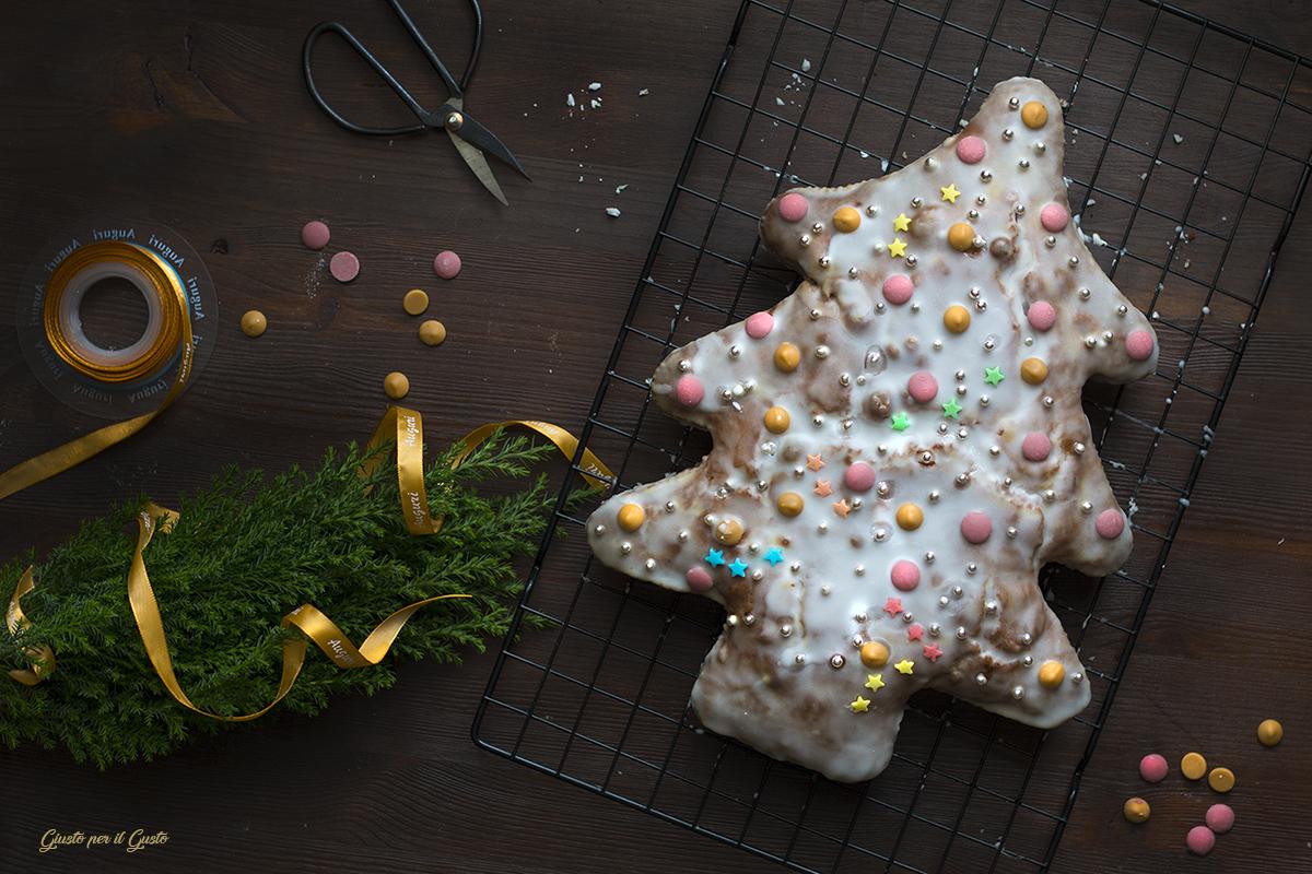 albero natalizio di pan di zenzero