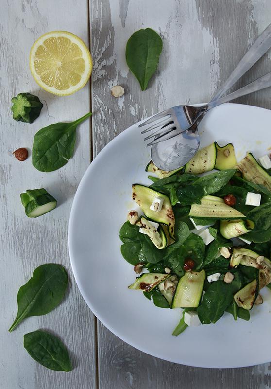 Nastri di zucchine