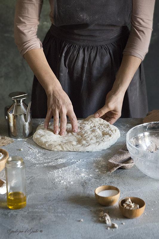 Impasto base per pizza e pane