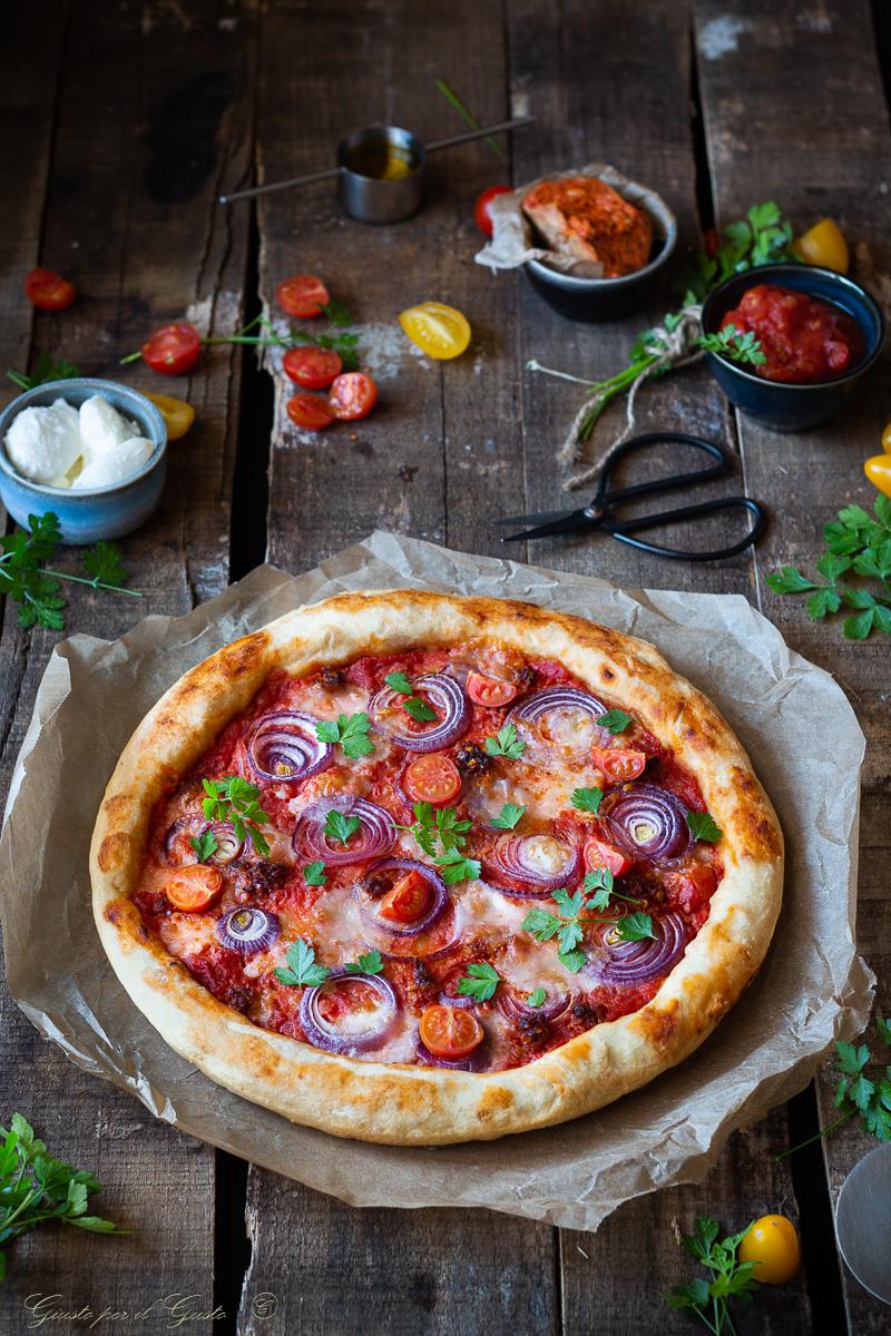 pizza alla calabrese