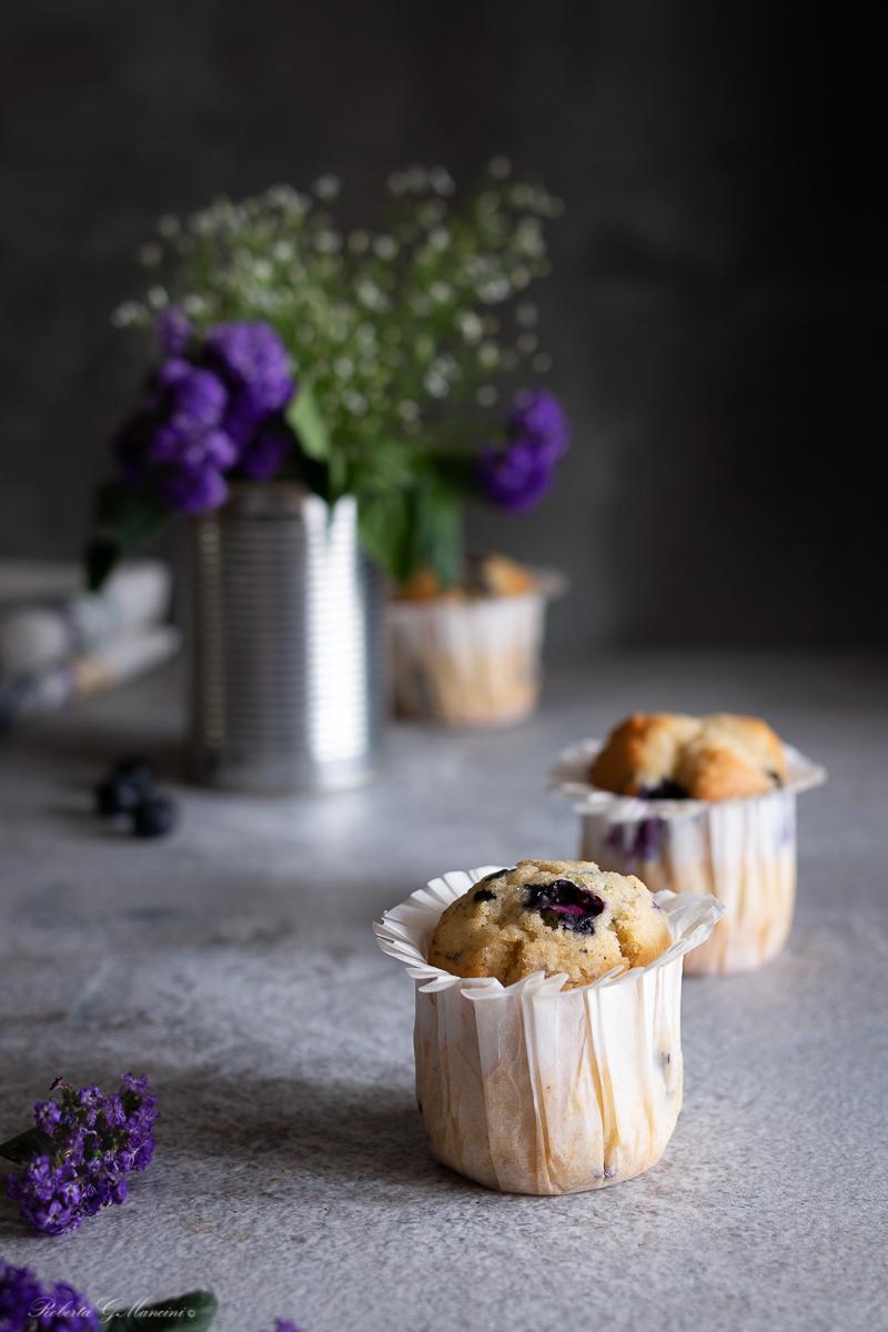 muffin mirtilli e cannella pepe