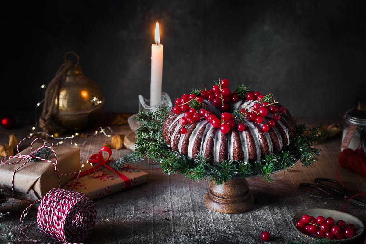 Bundt cake natalizia