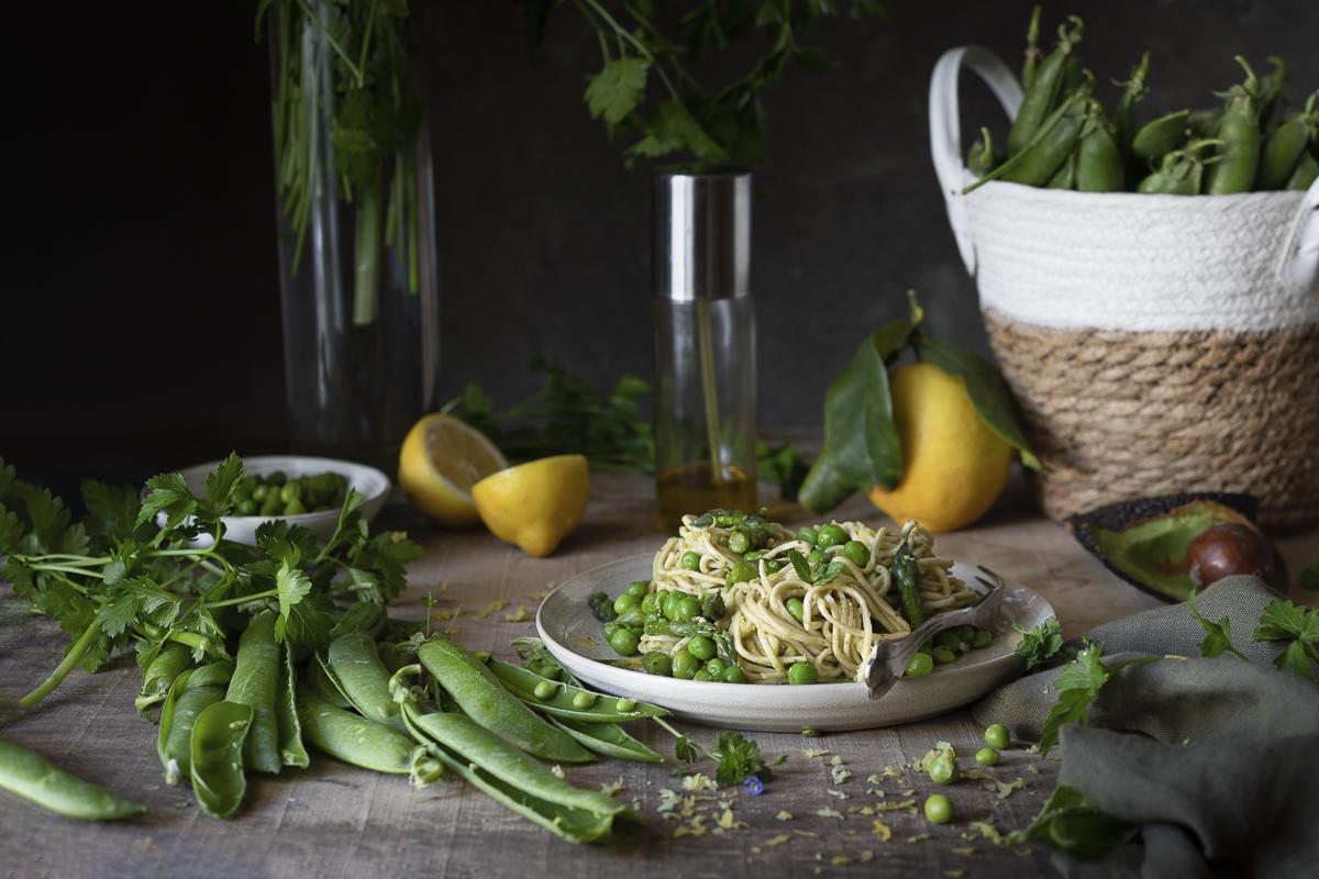 Noodles vegetariani  (A)
