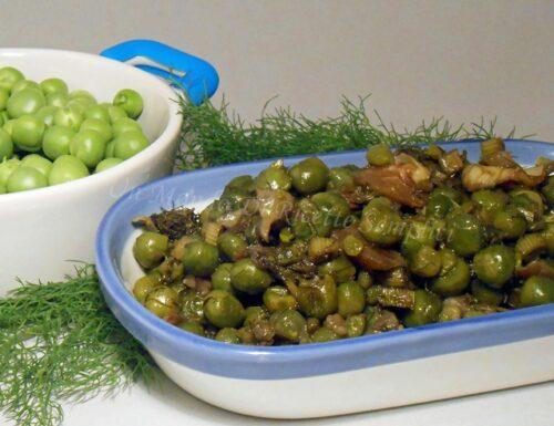 Frittedda di piselli, ricetta siciliana