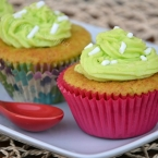 cupcake al pistacchio e quark