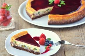 cheesecake a strati