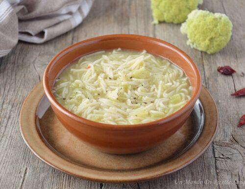 Minestra di broccolo e patate