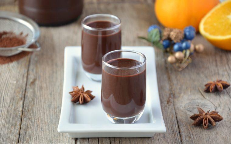 Liquore arancia e cacao
