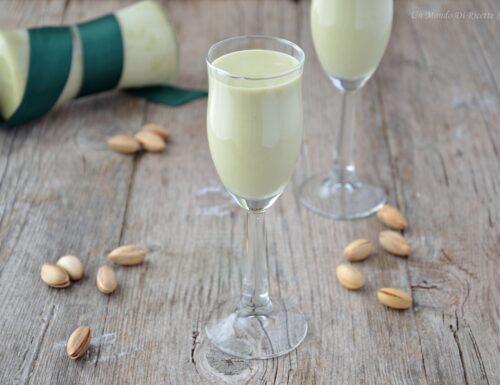 Liquore al pistacchio cremoso