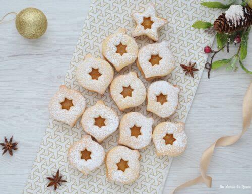 Biscotti di Natale alla marmellata