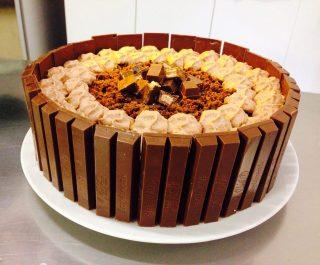 Torta Di Compleanno Kitkat E Nutella Give Me A Flavour