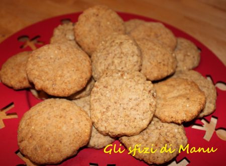 Biscotti morbidi ai cereali e muesli