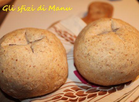 Pane integrale con poco sale
