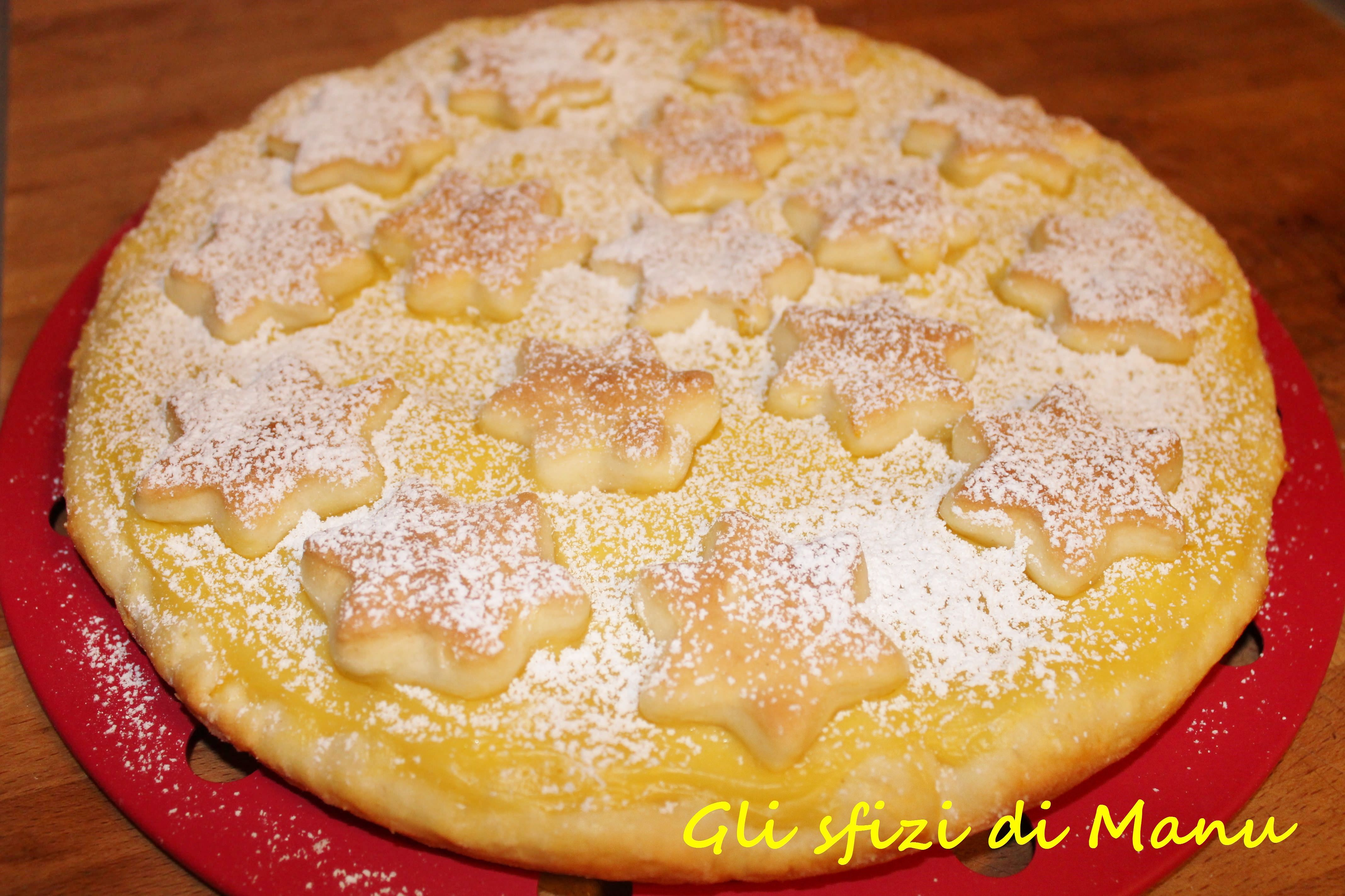 pan di yogurt con crema cotta al limone