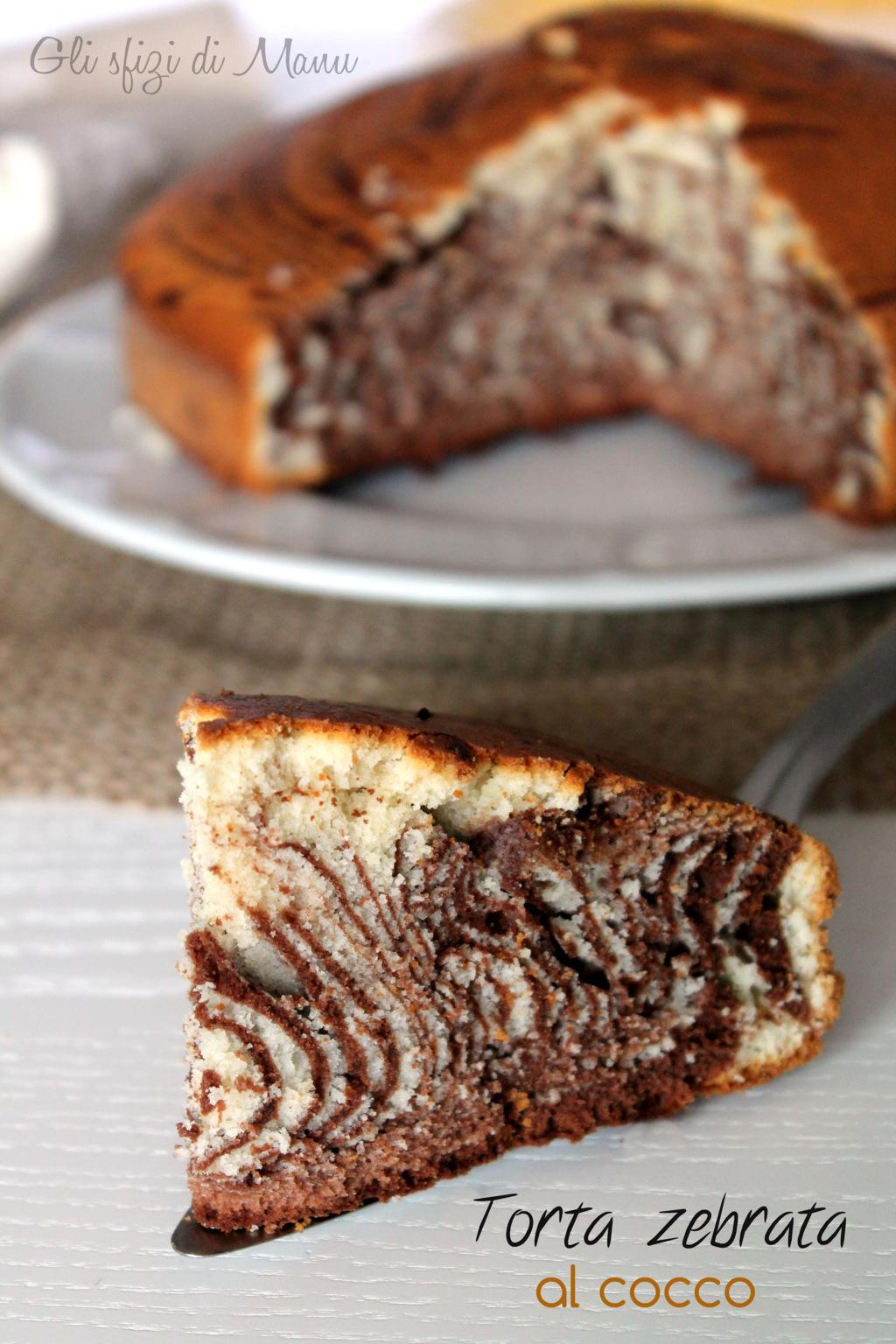 torta zebrata cocco