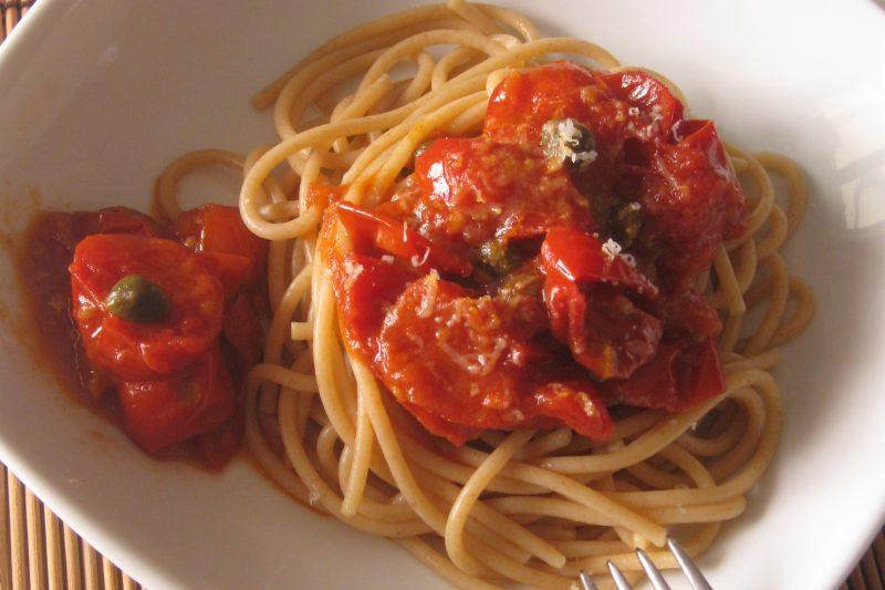 """Spaghetti integrali alla """"san giuannid"""""""