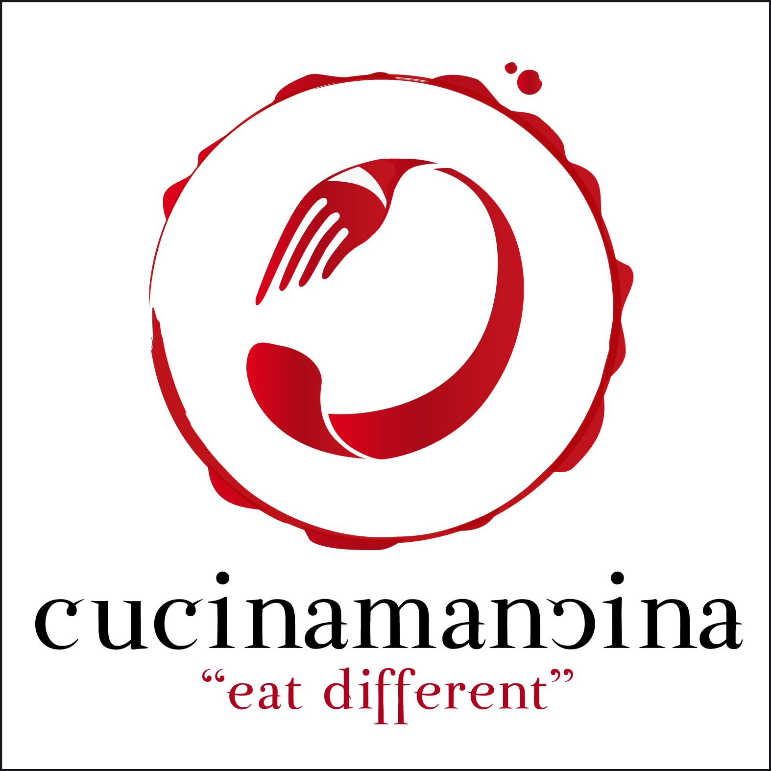 Cucina mancina il sito per mancini alimentari gli sfizi for Cucina logo