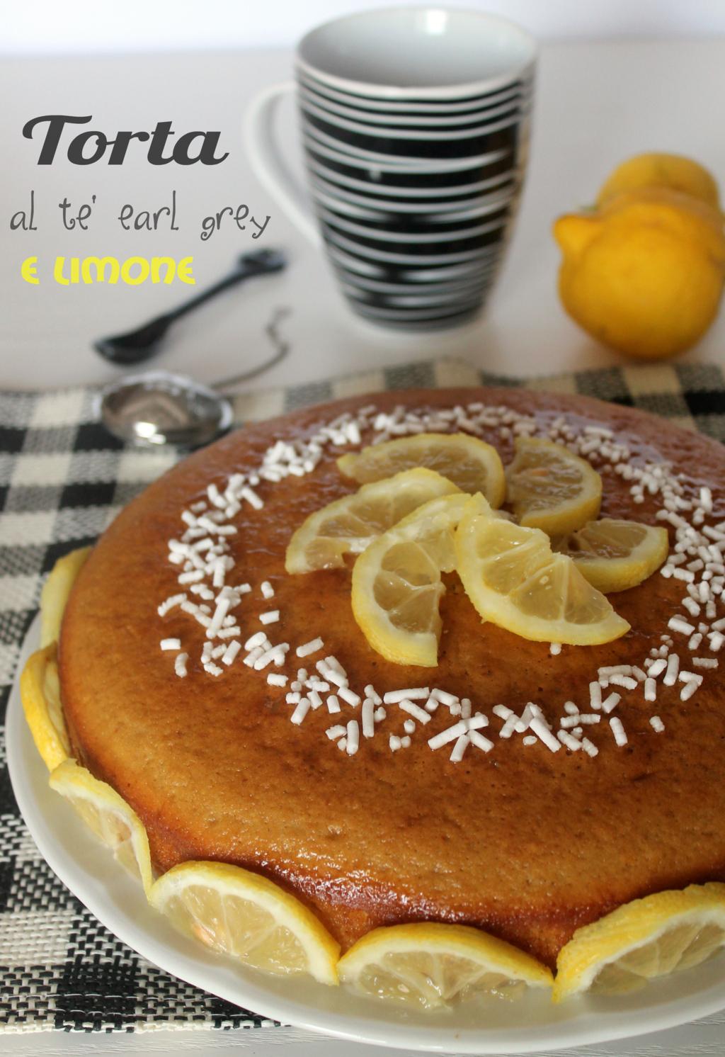 torta al té earl grey e limone