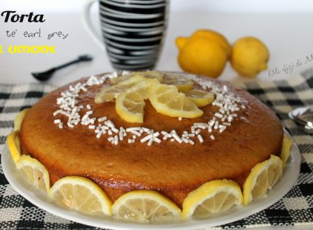 Torta al tè earl grey e limone
