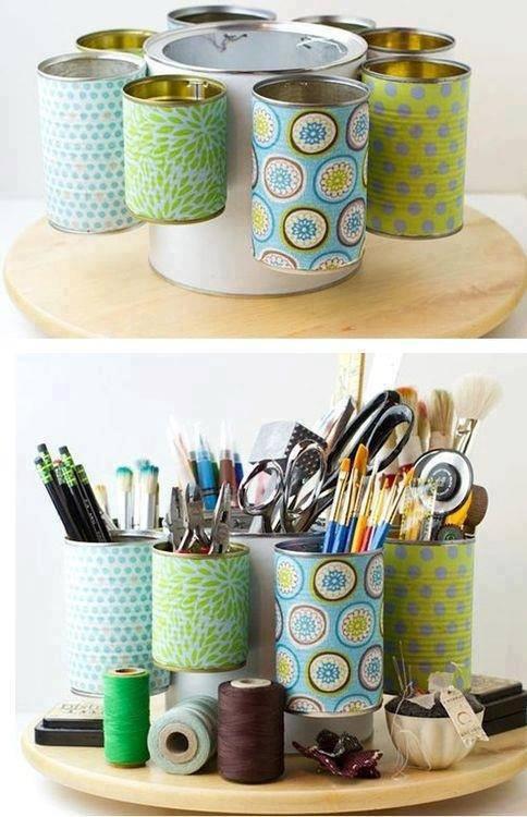 Populaire Stappa la creatività! Riciclo di lattine e barattoli. | Gli sfizi  WN65