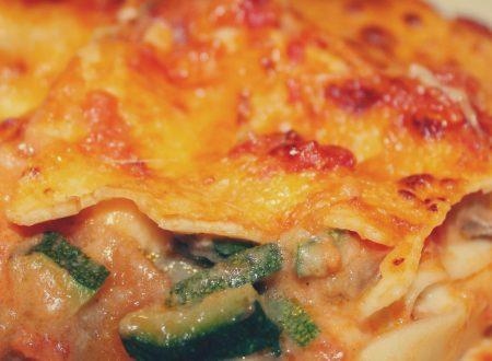 Lasagne con verdure, ricetta vegetariana